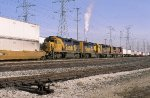 ATSF 542, 3820, 4025, and 4012 Eastbound